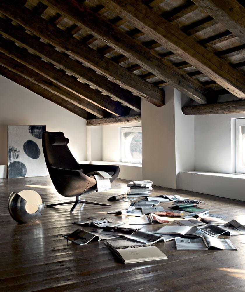 B&B Italia Metropolitan tuoli ristikkojalka olohuone
