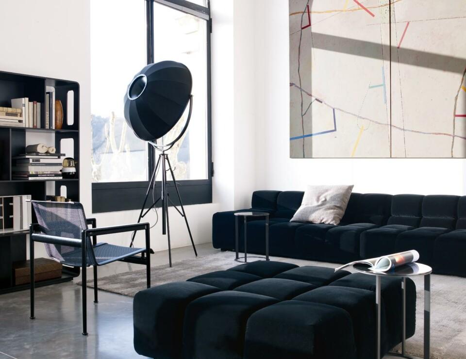 B&B Italia Tufty-Time moduulisohva tummansininen