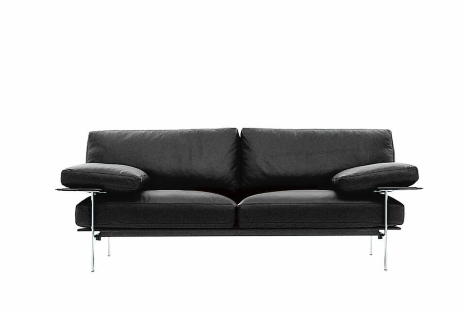 B&B Italia Diesis sohva kirkas kromijalka
