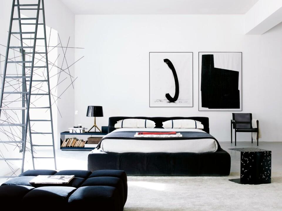 B&B Italia Tufty-Bed sänky sininen 2