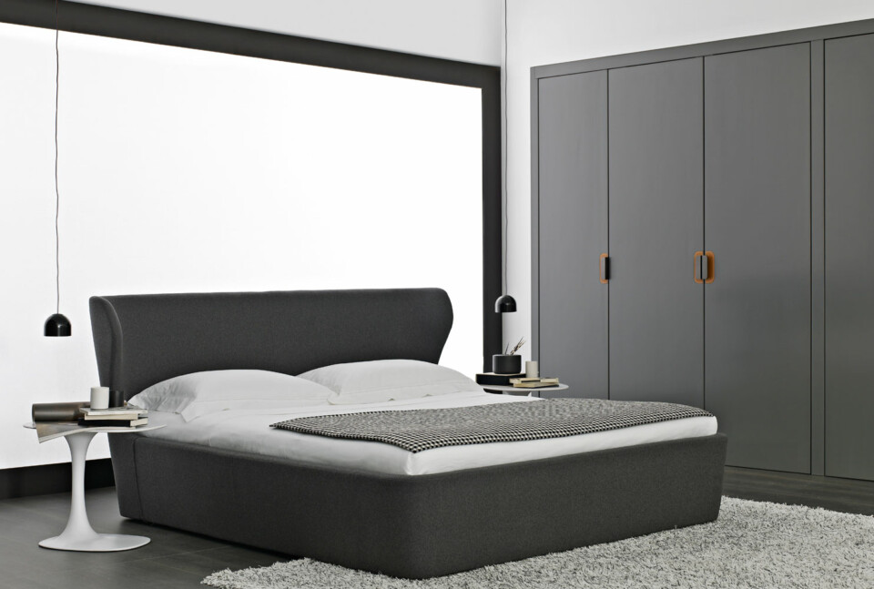 B&B Italia Papilio sänky makuuhuone