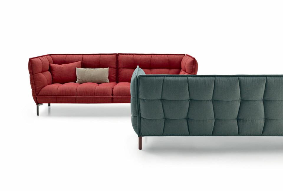 B&B Italia Husk-sohva 225 cm ja 261 cm