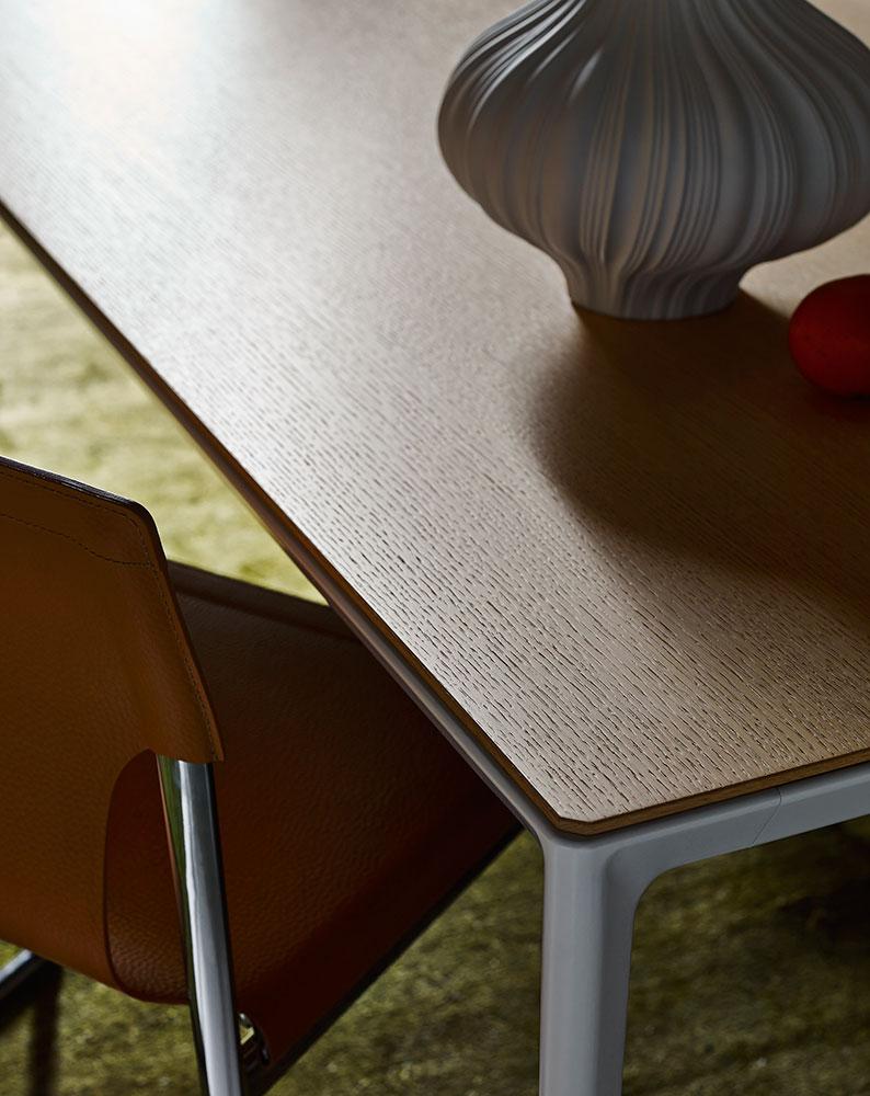 B&B Italia Mirto Indoor pöytä ruokahuone yksityiskohta