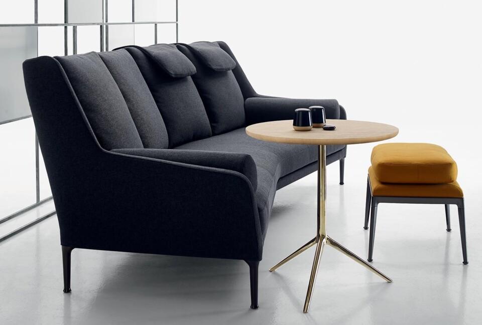 B&B Italia Cozy pöytä ja Édouard sohva