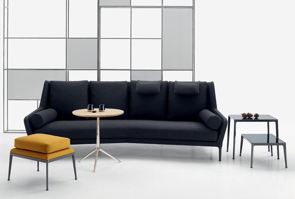B&B Italia Cozy pöytä ja Édouard sohva 2