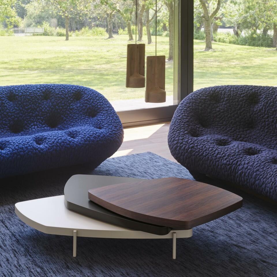 Ploum-sohvat, Triptik-sohvapöytä, Mold-valaisimet
