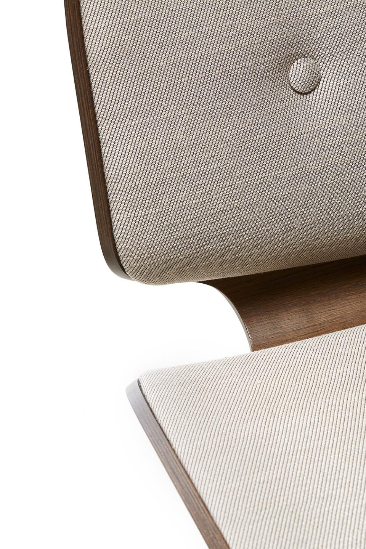 Moooi Nut Lounge Chair lepotuoli yksityiskohta