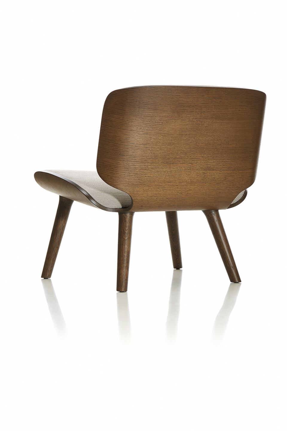 Moooi Nut Lounge Chair lepotuoli takaa