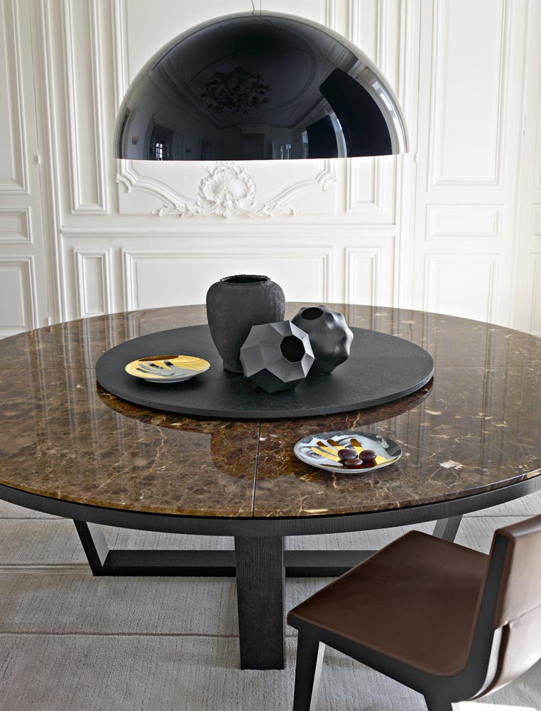 Maxalto Xilos ruokapöytä pyöreä