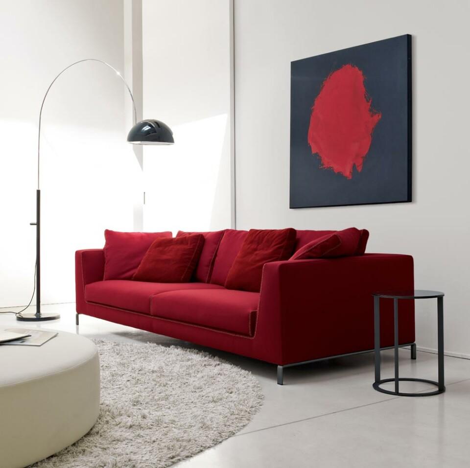 B&B Italia Ray sohva punainen