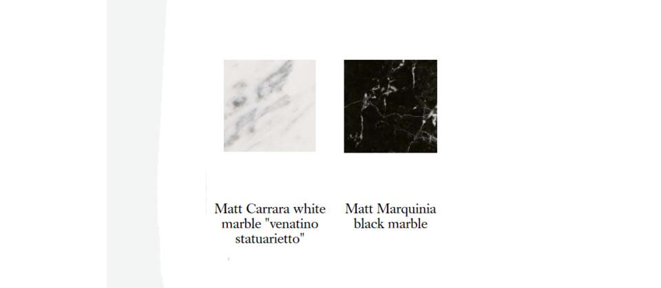 B&B Italia Bull värivaihtoehdot marmori