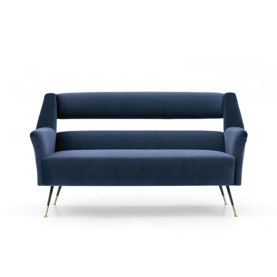 Minotti Albert & Ile sohva tummansininen