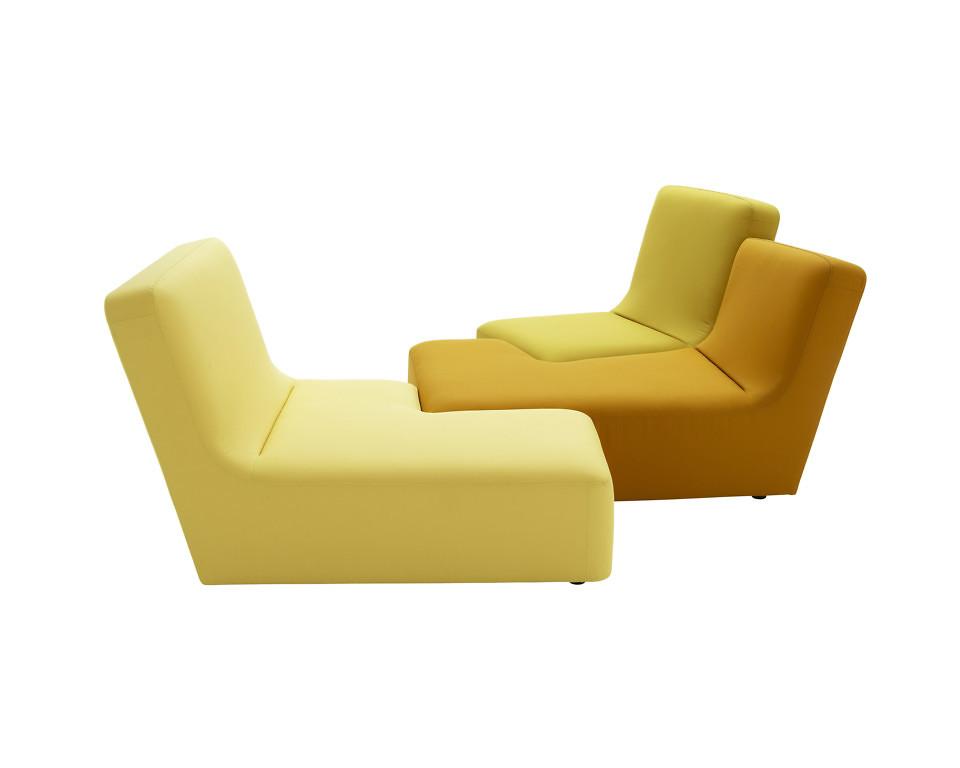 Ligne Roset Confluences sohva 3-paikkainen
