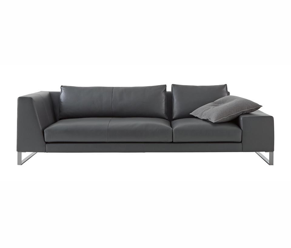 Ligne Roset Exclusif 2 sohva epäsymmetriset käsinojat
