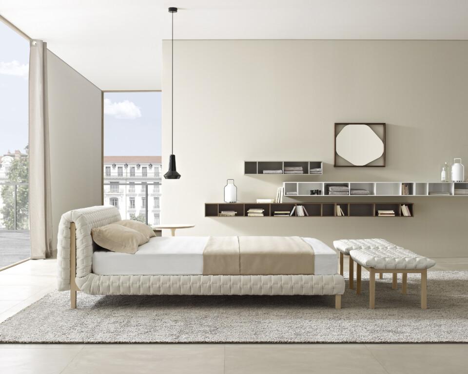 Ligne Roset Ruché sänky makuuhuone