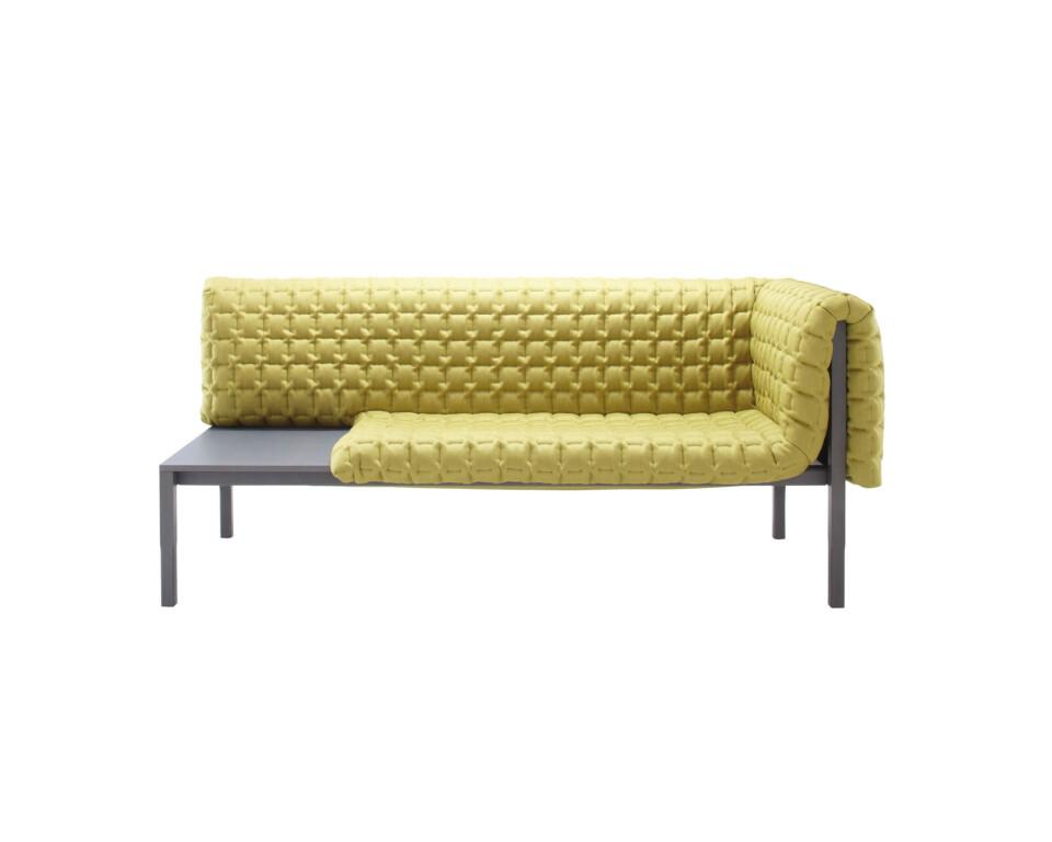 Ligne Roset Ruché sohva antrasiittirunko