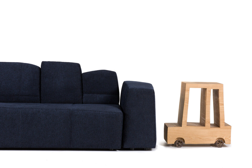 Moooi Something Like This Sofa ja Turbo Table