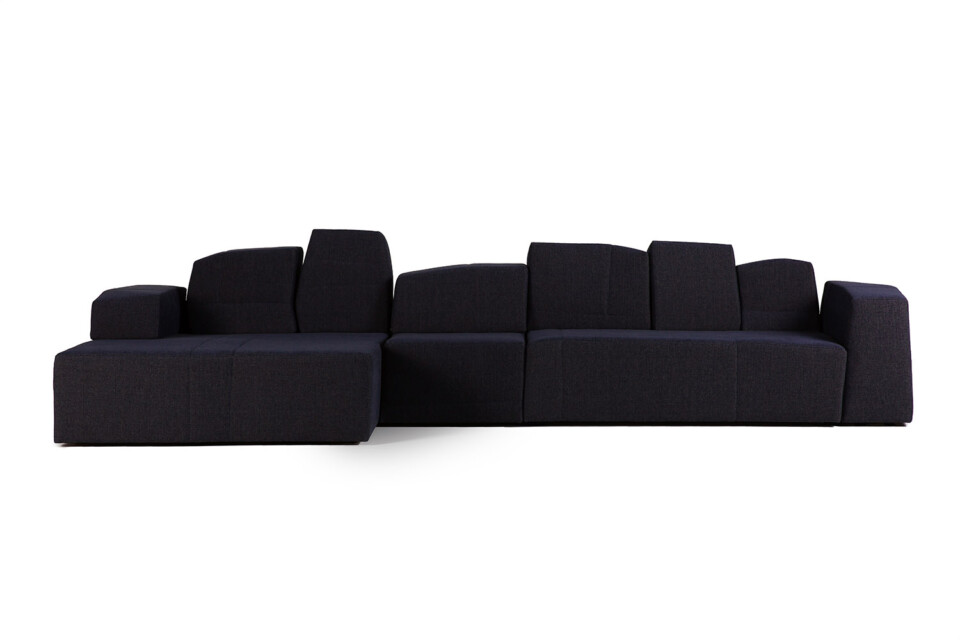 Moooi Something Like This Sofa sininen kulmasohva