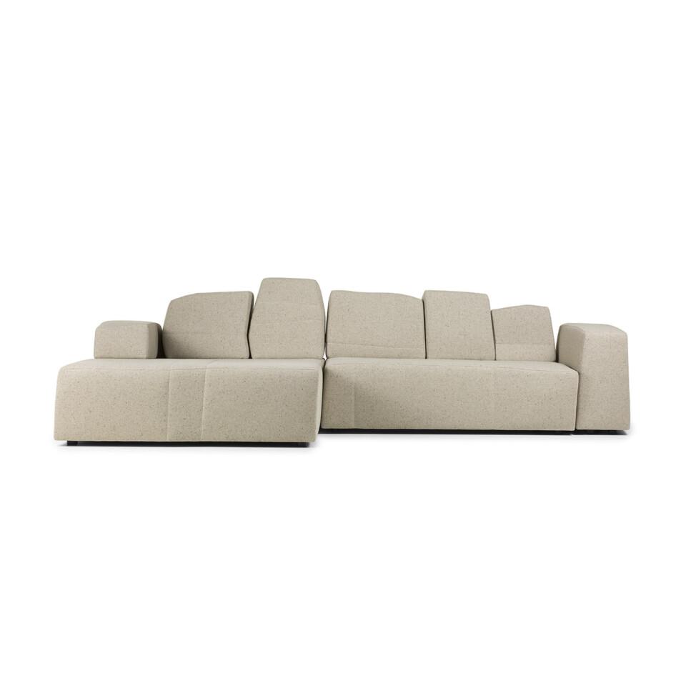 Moooi Something Like This Sofa vaalea kulmasohva