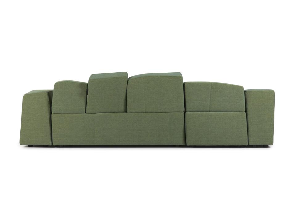 Moooi Something Like This Sofa vihreä sohva takaa