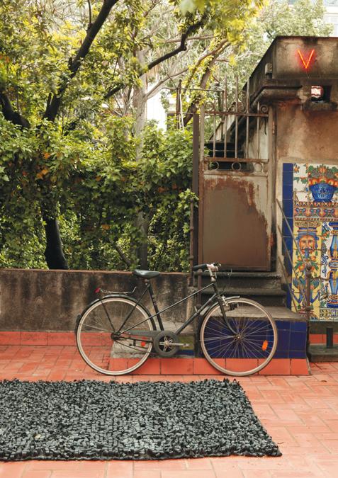 Nanimarquina bicicleta matto