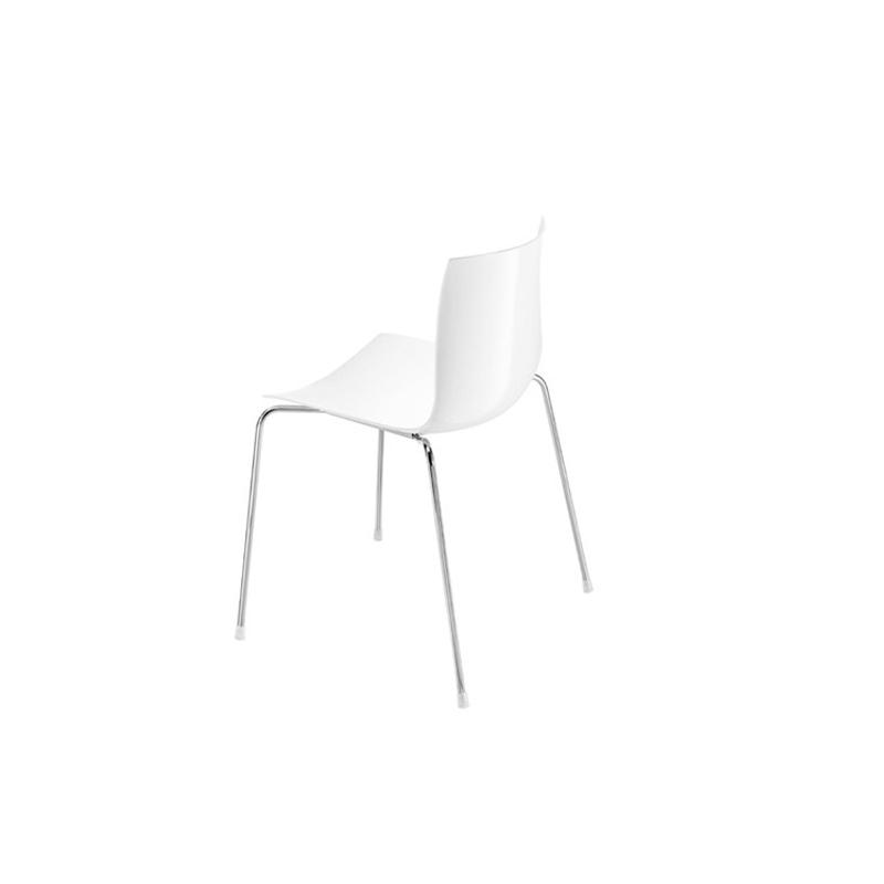 Arper Catifa 46 valkoinen tuoli