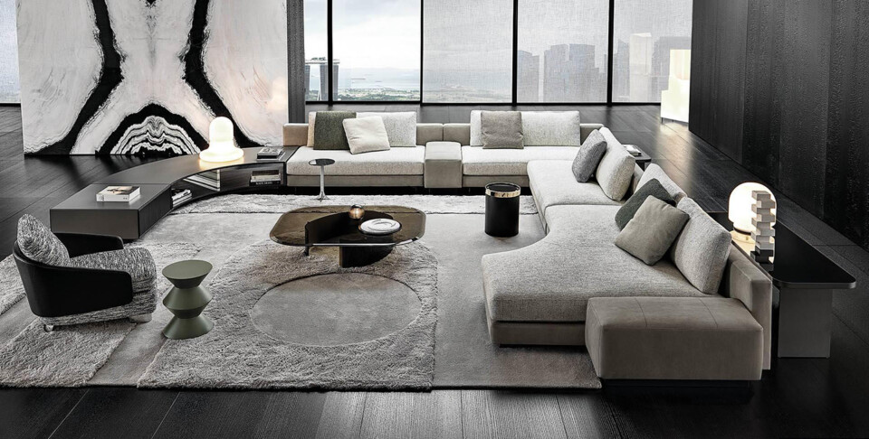 Minotti Daniels sohva