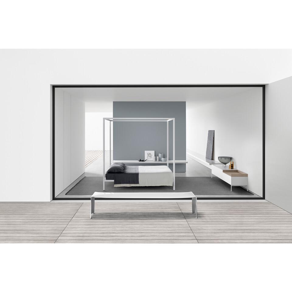 MDF Italia Aluminium Bed 3