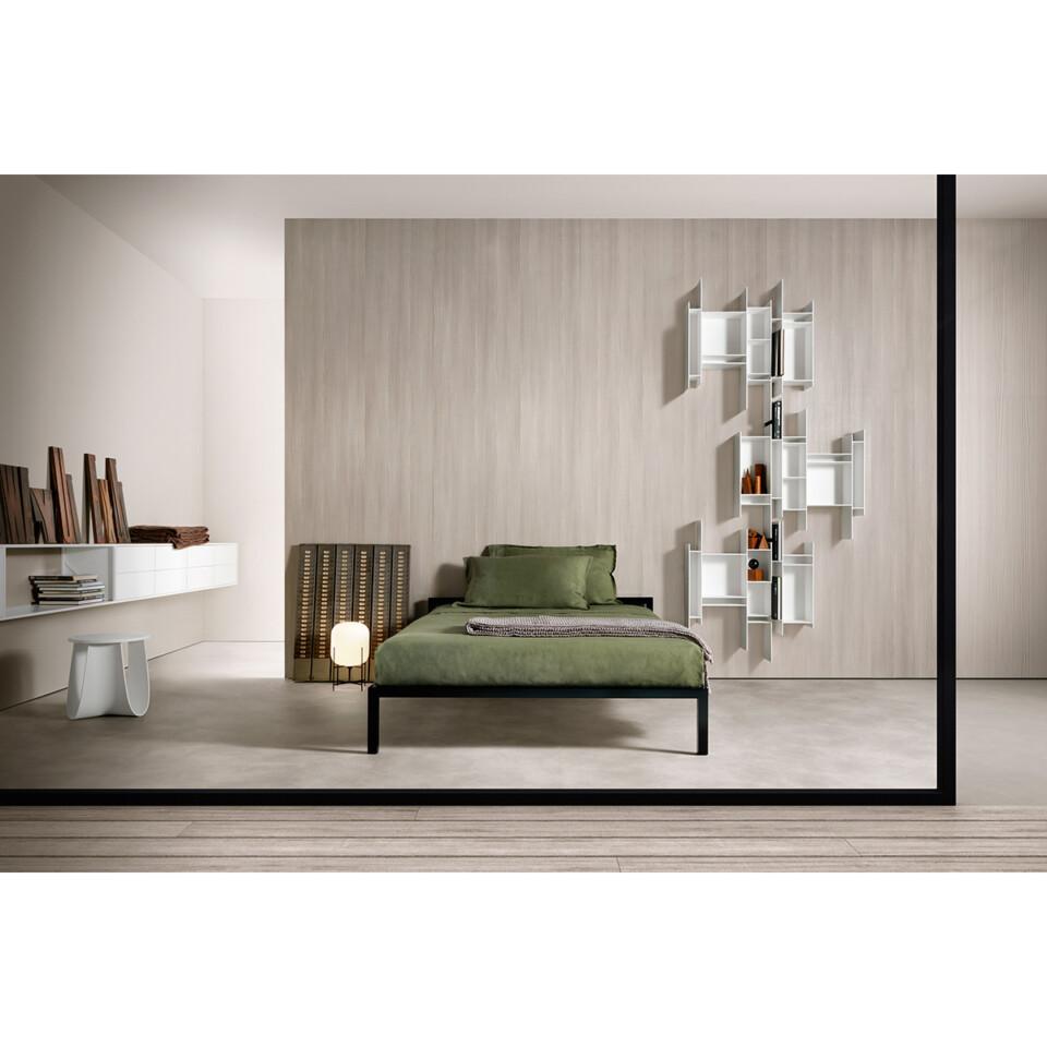 MDF Italia Aluminium Bed 6