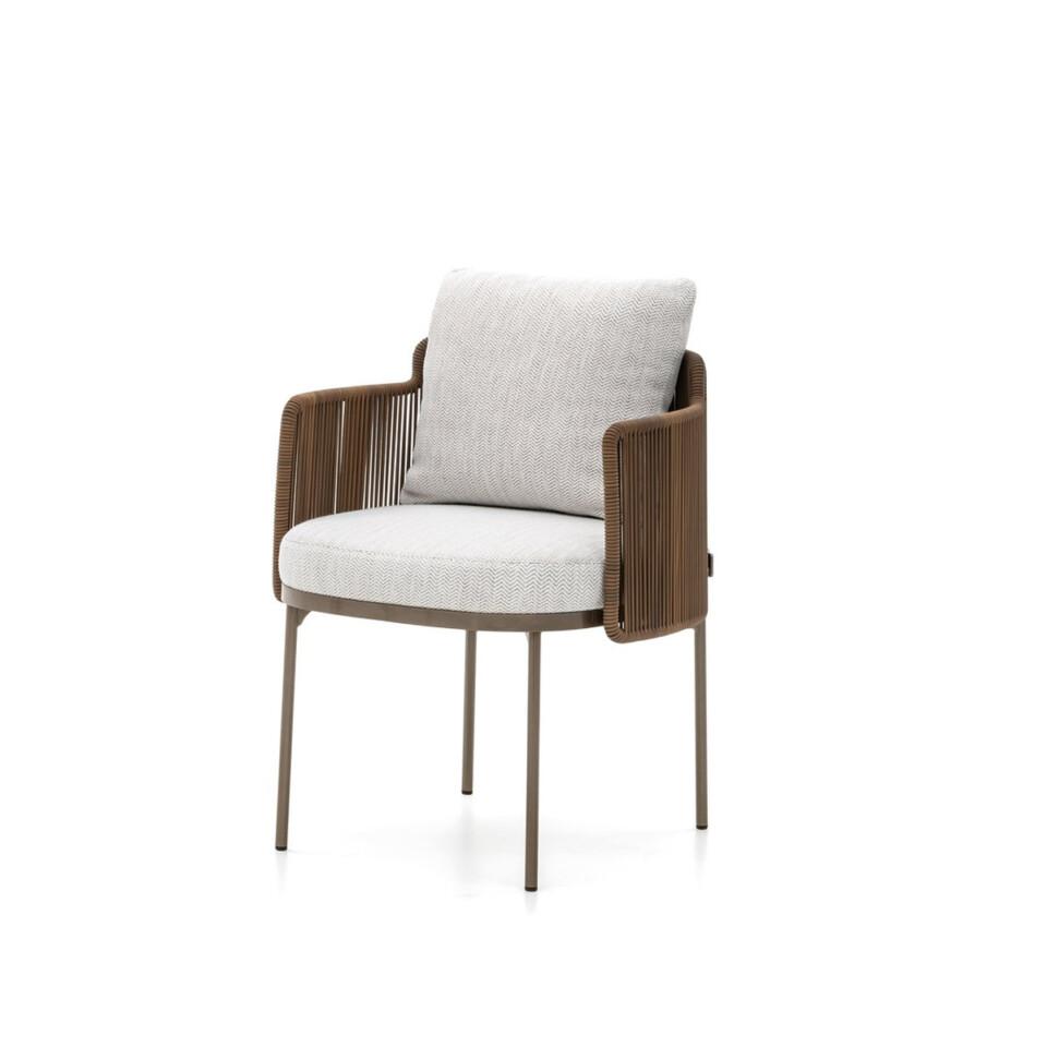 Minotti Tape Cord ulkokalusteet tuolit